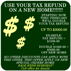 Tax Refund Special